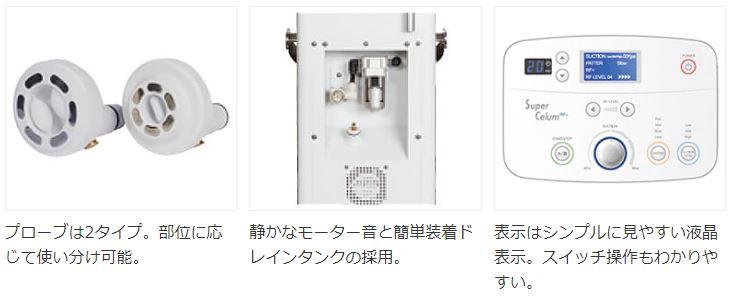 スーパーセルムRF 吸引×RF×ローラー 業務用痩身美容機器