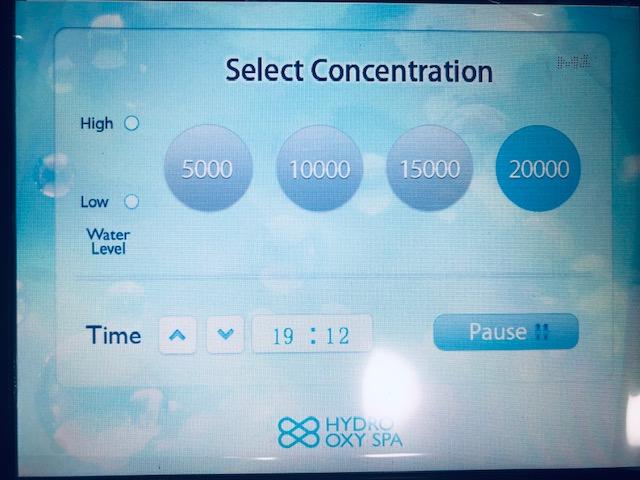 ハイドロオキシースパ HydroOxySpa 高濃度水素 酸素生成器 水素マシン